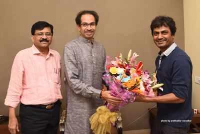 Nawazuddin Siddiqui meets Uddhav Thackeray to prepare for Bal Thackeray biopic