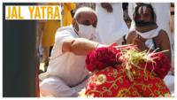 Rath Yatra 2020: Jagannathji temple priests perform Jal Yatra amidst lockdown