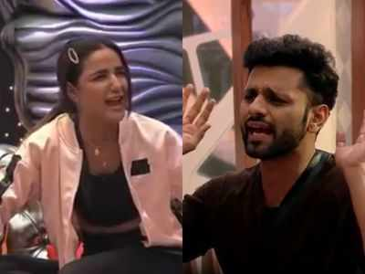Bigg Boss 14: Jasmin Bhasin breaks into tears after fight with Rahul Vaidya, says she cannot be a part of the show