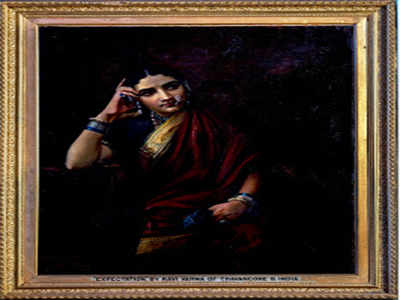 A virtual exhibition of Raja Ravi Varma's works