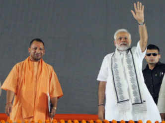 RSS-backed lab to sell cow dung soap, Modi & Yogi kurtas on Amazon