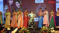 Janani Iyer takes part in Times Wedding Bells fashion show in Coimbatore