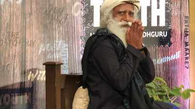 Take charge of your body and mind: Sadhguru