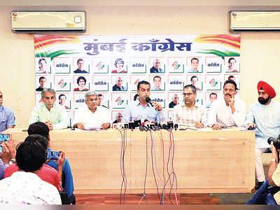 Congress launches movement against BMC