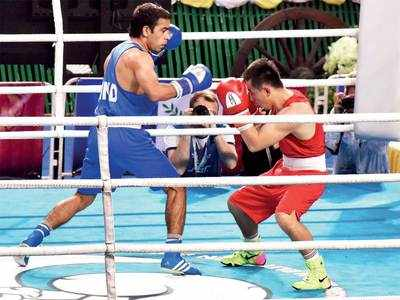 India shines at Asian Boxing Championship