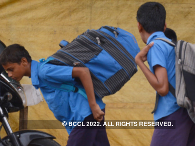 Students of TMC-run schools will now have to carry only two books