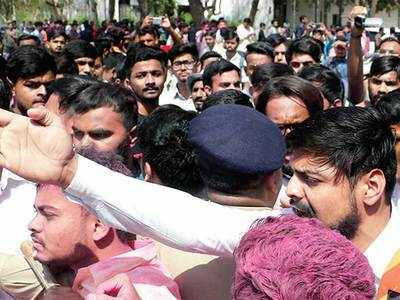 After GU win, NSUI faces 2 FIRs for 'threats'
