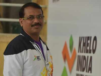 Maharashtra's gymnastics coach Mahendra Babhulkar happy with his team's performance in Khelo India Youth Games