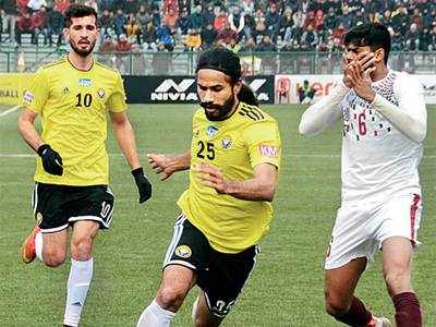 Bagan beat Real Kashmir 2-0