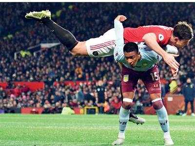 Premier League: Manchester United remain in ninth position