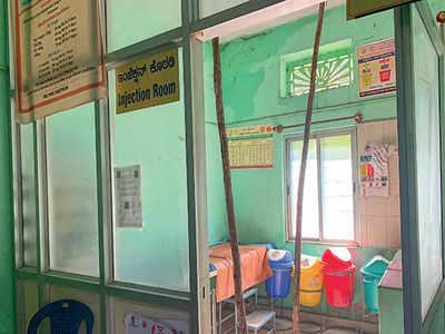 Health centre in ICU