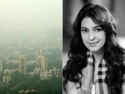 Juhi Chawla, Dia Mirza express concern over air pollution in Mumbai