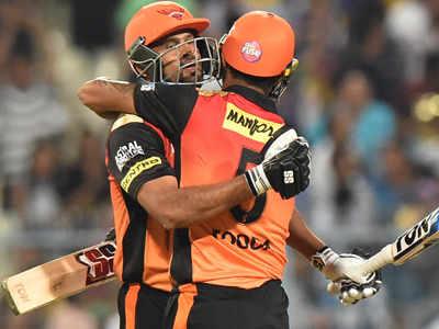 IPL 2018: Sunrisers Hyderabad beat Kolkata Knight Riders comfortably by five wickets
