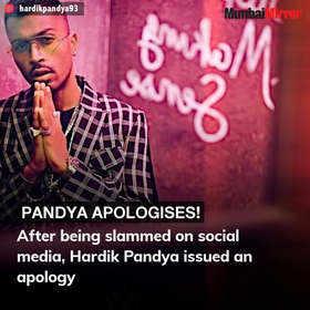 Mumbai news today: From Hardik Pandya's apology to BMC taking over Worli sea-face promenade, here are the top stories of January 9