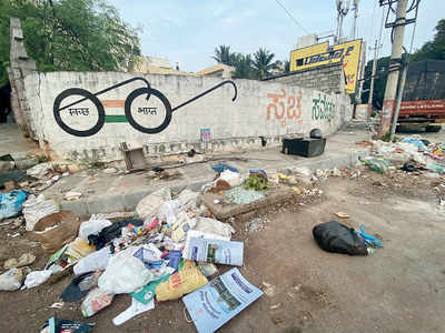 Dumping your trash slyly on the road? BBMP to install cameras at black spots to watch you and catch you