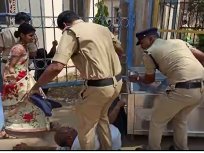 Telangana: Constable kicks man grieving his daughter's death, taken off duty