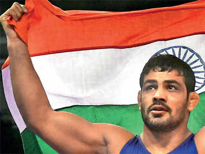 Commonwealth Games 2018: Sushil Kumar, Rahul Aware lead as grapplers join gold medals party in Gold Coast