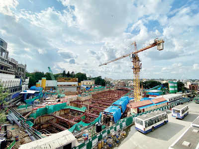 TBM creates hole lotta problem in Shivajinagar