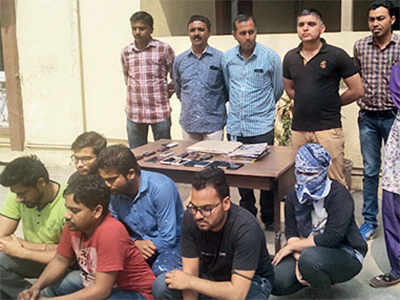 Cyber insurance scam busted; 7 held