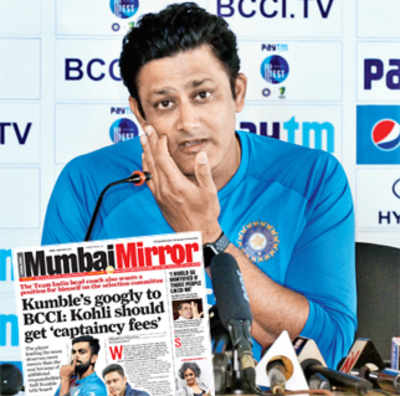 Has BCCI advertised for the head coach because of this?