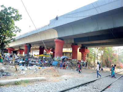 Hebbal Flyover built in 2003 seems to have outlived its purpose