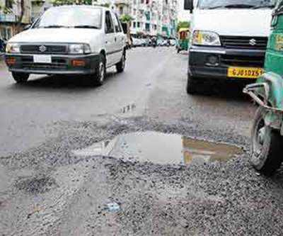 AMC has no inkling about extent of damage to roads
