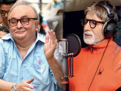 Rishi Kapoor sings to Amitabh Bachchan's tunes