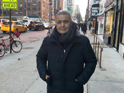 Rishi Kapoor gets a Russian gift in New York