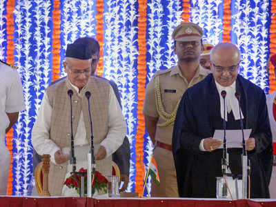 Bhagat Singh Koshyari takes oath as Maharashtra Governor