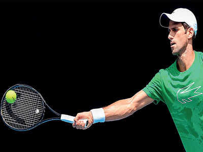 Novak eyes 5th post-30 Slam in Australia