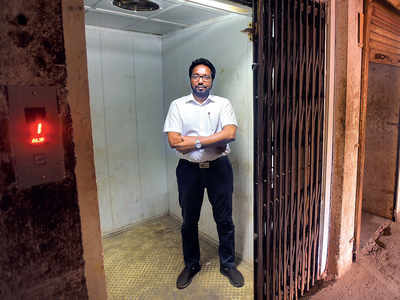 Mumbai elevators: The new skyscrapers coming up have high-speed lifts, but many old buildings retain ill-maintained old ones