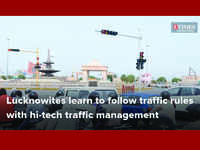 Lucknowites learn to follow traffic rules with hi-tech traffic management