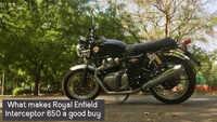 What makes Royal Enfield Interceptor 650 a good buy