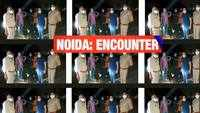 Suspected criminal shot at by Noida police in an alleged encounter