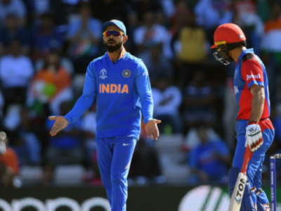 Video: Virat Kohli fined for excessive appealing against Afghanistan