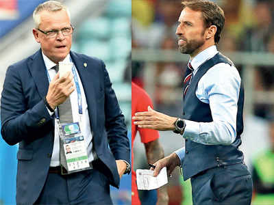 FIFA World Cup 2018: England coach Gareth Southgate and Sweden coach Janne Andersson plot a path to the semi-finals