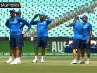 India vs Australia: Men in Blue sweat it out ahead of first ODI in Sydney