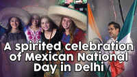 A spirited celebration of Mexican National Day in Delhi