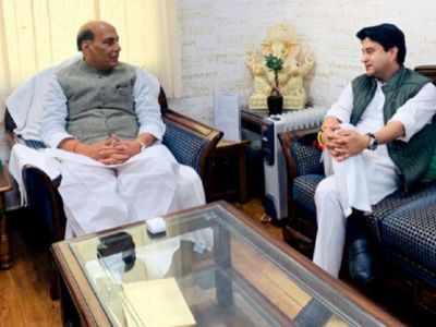Jyotiraditya Scindia will help in strengthening BJP: Rajnath Singh