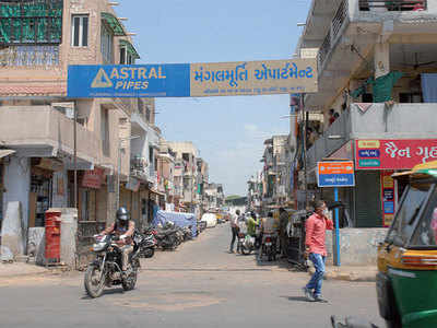 Why are fewer areas under micro containment? Amdavadis want to know