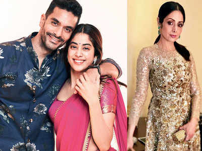 Bollywood Angad Bedi On Working With Janhvi Kapoor In Gunjan Saxena Biopic Saw Glimpses Of Srideviji In Her Eyes