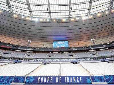 France national stadium is vax site