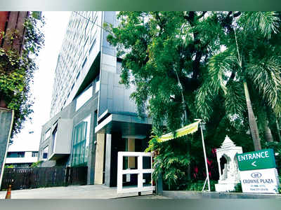 Case against six employees of co operating the Crowne Plaza hotel