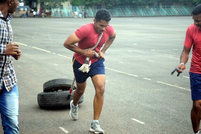 From flab to fit: Pune Police underwent a fitness challenge