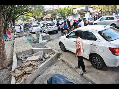Traffic dept cancels NOC for overdue construction