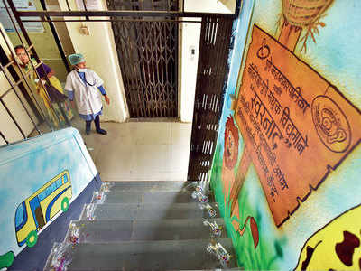 What started as a PMC maternity home suddenly converted into a school