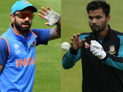 India vs Bangladesh Live Score, ICC Champions Trophy 2017 Semi-Final, Live Cricket Score and Updates: India beat Bangladesh by 9 wickets, enter final to clash with Pakistan on Sunday
