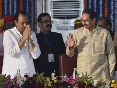 Aam Aadmi Party criticises Uddhav Thackeray over induction of Ajit Pawar as Deputy CM