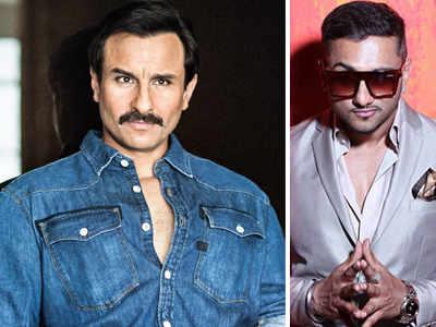 Saif Ali Khan makes a rapping debut alongside Honey Singh in Bazaar