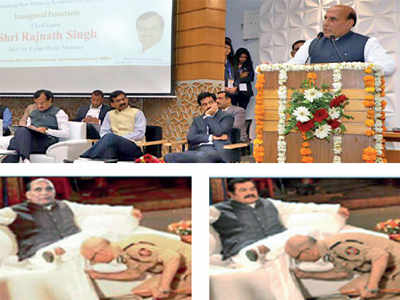 Home minister Rajnath Singh wants police to nab 'cyber shararti ' behind his October 2017 morphed image shilpa
